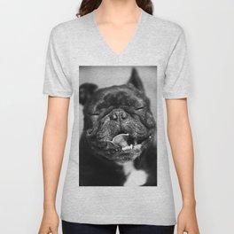 French Bulldog Unisex V-Neck