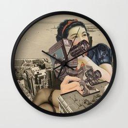 POV Wall Clock