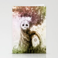 let it go Stationery Cards featuring Let Go by Jæn ∞