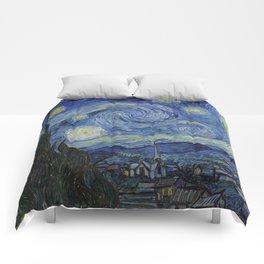 THE STARRY NIGHT - VAN GOGH Comforters