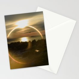 Midnight Sun and The Ring Of Fire Stationery Cards