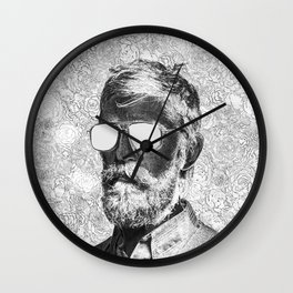 Graphic novelist Wall Clock