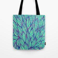 Natural leaves Tote Bag