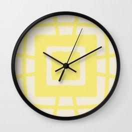 Medallion Sweet Corn & Lemon Verbena Wall Clock