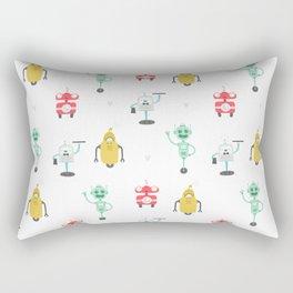 ROBOT DOODLES Rectangular Pillow