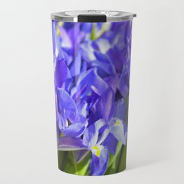 Lovely purple iris Travel Mug