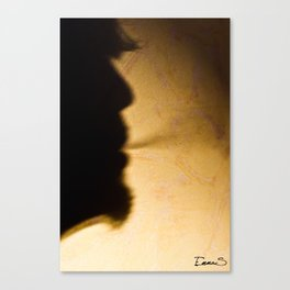 Baby can't stop smoking  Canvas Print