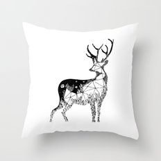 Cervidae Throw Pillow