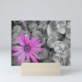 Purple Shot Mini Art Print