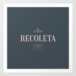 Recoleta Neighborhood Art Print