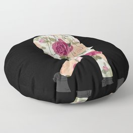 floral harry Floor Pillow