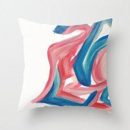 Swirls in the Sky 1 Throw Pillow