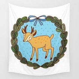 Baby deer Wall Tapestry