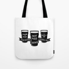 The Winchester, The Crown & The Golden Mile Tote Bag