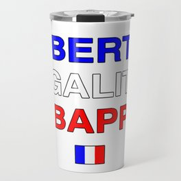 Liberté Égalité Kylian Mbappé Travel Mug