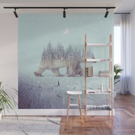 polar winter Wall Mural