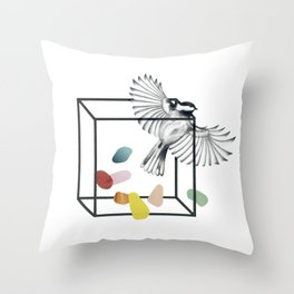 Claustrophobia II Throw Pillow