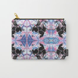 Dripping Kaleido-Skull Carry-All Pouch