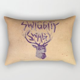 SWIGGITY SWAG I'M A STAG Rectangular Pillow