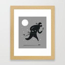 Star stealer Framed Art Print