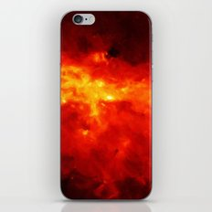 The Painted Space Lava iPhone & iPod Skin