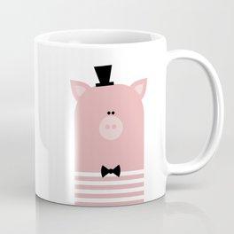 MR. FANCY PIG Coffee Mug