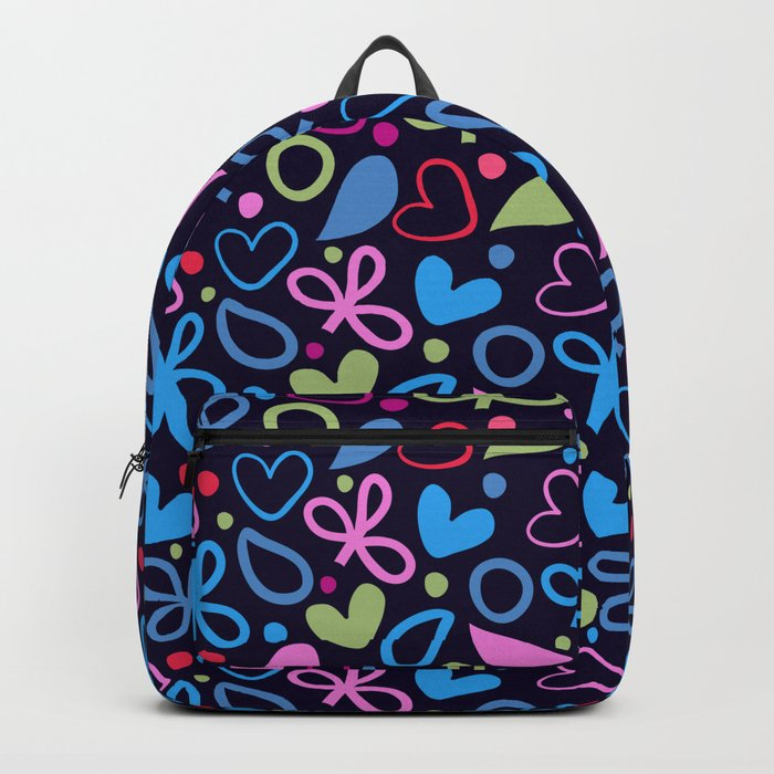 Colorful Lovely Pattern XVIII Backpack