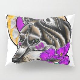 A Wolf's Bane Pillow Sham