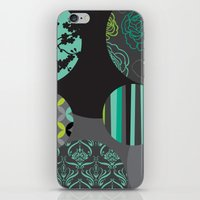 oriental iPhone & iPod Skins featuring Oriental by thickblackoutline