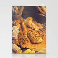 bread Stationery Cards featuring Bread by Richard McGee