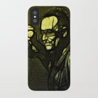 u2 iPhone & iPod Cases featuring U2 / Bono 1 by JR van Kampen