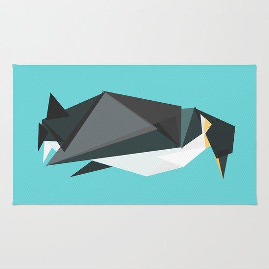 Fractal geometric emperor penguin Rug