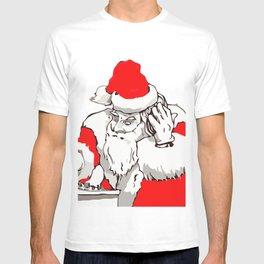 Merry Christmas DJ Santa Nonstop Remix T-shirt