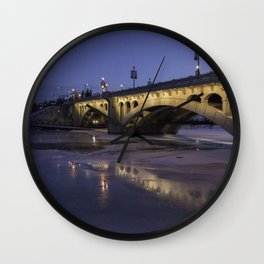 Early Morning Centre St. Bridge Wall Clock