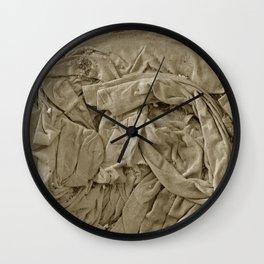 Vintage Canvas Wall Clock