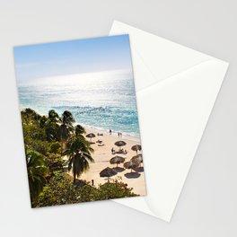 Playa Paraiso Cayo Largo, Cuba Stationery Cards