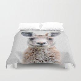 Kangaroo - Colorful Duvet Cover