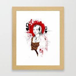 Anne Boleyn Framed Art Print