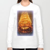 chandelier Long Sleeve T-shirts featuring Venetian Chandelier  by Chris' Landscape Images & Designs