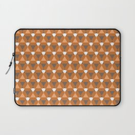 Reception retro geometric pattern Laptop Sleeve