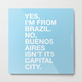From Brazil II Metal Print