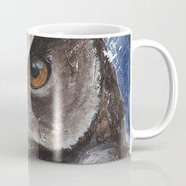 "The Owl - ""Watch-me!"" - Animal - by LiliFlore Coffee Mug"