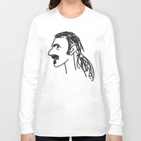 zappa Long Sleeve T-shirts featuring Frank Zappa by rabuzina