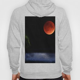 Red Moon Night Hoody