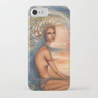 siren iPhone & iPod Cases featuring Siren by Erica Wexler