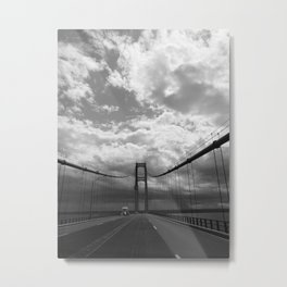 The Impressive Mackinac Bridge Metal Print