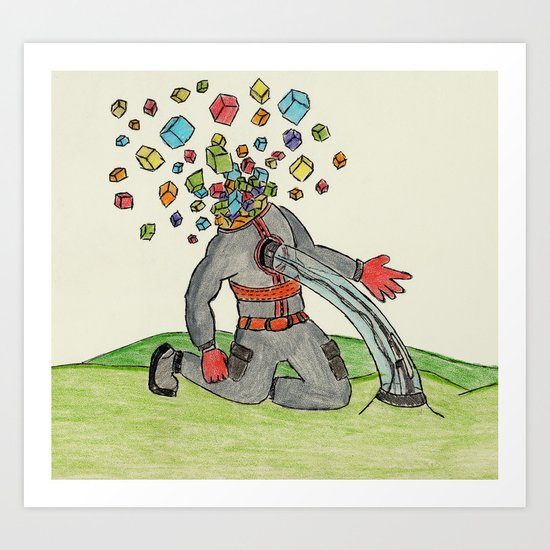 Bulk Art Print