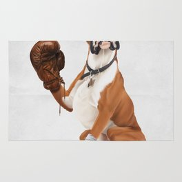 The Boxer (Wordless) Rug