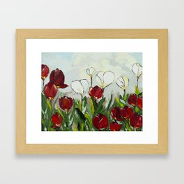 Spring Morning Framed Art Print