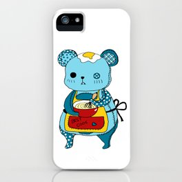 """Kookie"" The Bear iPhone Case"